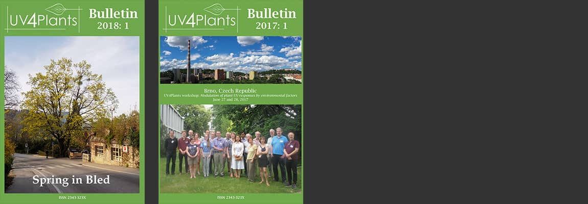 UV4Plants Bulletin